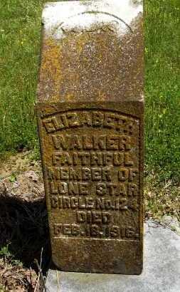WALKER, ELIZABETH - Phillips County, Arkansas | ELIZABETH WALKER - Arkansas Gravestone Photos