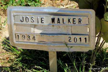 WALKER, JOSIE - Phillips County, Arkansas   JOSIE WALKER - Arkansas Gravestone Photos