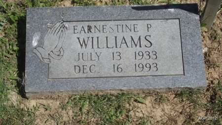WILLIAMS, EARNESTINE P - Phillips County, Arkansas | EARNESTINE P WILLIAMS - Arkansas Gravestone Photos