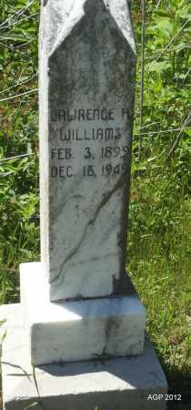 WILLIAMS, LAWRENCE H - Phillips County, Arkansas   LAWRENCE H WILLIAMS - Arkansas Gravestone Photos