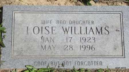 WILLIAMS, LOISE - Phillips County, Arkansas | LOISE WILLIAMS - Arkansas Gravestone Photos