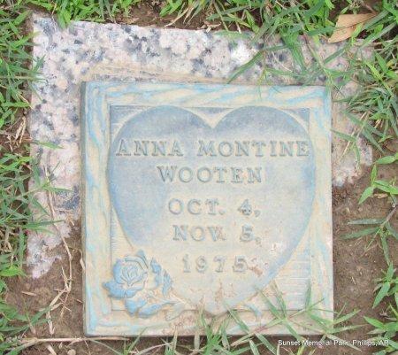 WOOTEN, ANNA MONTINE - Phillips County, Arkansas   ANNA MONTINE WOOTEN - Arkansas Gravestone Photos