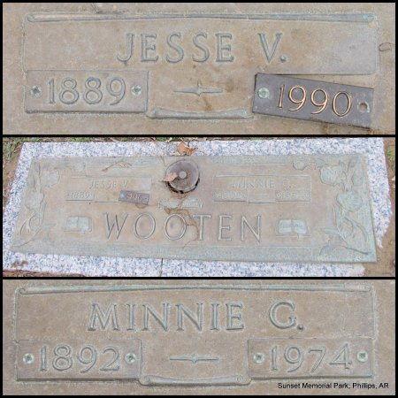 WOOTEN, JESSE VINEYARD (CENTENARIAN) - Phillips County, Arkansas | JESSE VINEYARD (CENTENARIAN) WOOTEN - Arkansas Gravestone Photos