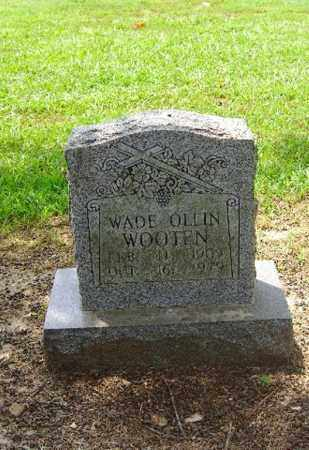 WOOTEN, WADE OLLIN - Phillips County, Arkansas | WADE OLLIN WOOTEN - Arkansas Gravestone Photos