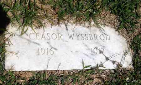 WYSSBROD, CEASOR - Phillips County, Arkansas | CEASOR WYSSBROD - Arkansas Gravestone Photos