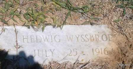 WYSSBROD, HEDWIG - Phillips County, Arkansas | HEDWIG WYSSBROD - Arkansas Gravestone Photos