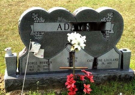 ADAMS, GEORGE HERMAN - Pike County, Arkansas   GEORGE HERMAN ADAMS - Arkansas Gravestone Photos