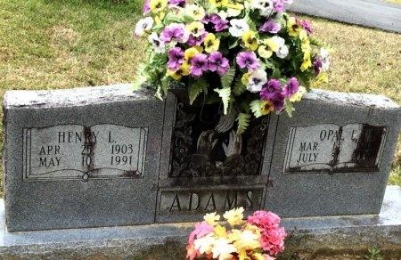 ADAMS, HENRY LEANDER - Pike County, Arkansas | HENRY LEANDER ADAMS - Arkansas Gravestone Photos
