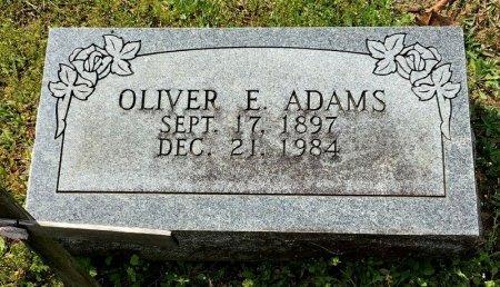ADAMS, OLIVER E. - Pike County, Arkansas | OLIVER E. ADAMS - Arkansas Gravestone Photos