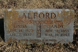 ALFORD, ANDREW GRIFFIN - Pike County, Arkansas | ANDREW GRIFFIN ALFORD - Arkansas Gravestone Photos