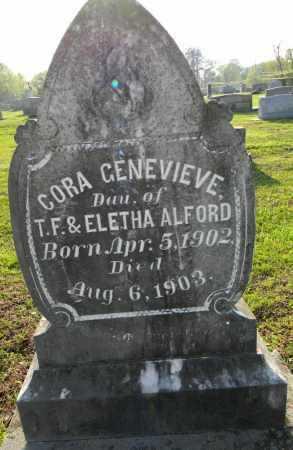 ALFORD, CORA GENEVIEVE - Pike County, Arkansas | CORA GENEVIEVE ALFORD - Arkansas Gravestone Photos