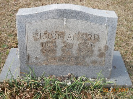 ALFORD, ELDON - Pike County, Arkansas | ELDON ALFORD - Arkansas Gravestone Photos
