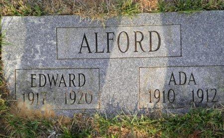 ALFORD, EDWARD - Pike County, Arkansas   EDWARD ALFORD - Arkansas Gravestone Photos