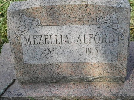 ALFORD, MEZELLIA - Pike County, Arkansas | MEZELLIA ALFORD - Arkansas Gravestone Photos