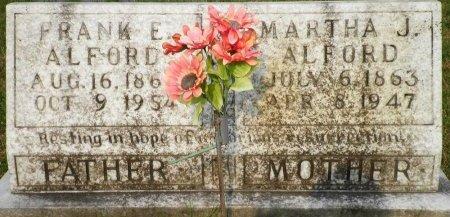 ALFORD, MARTHA J. - Pike County, Arkansas | MARTHA J. ALFORD - Arkansas Gravestone Photos