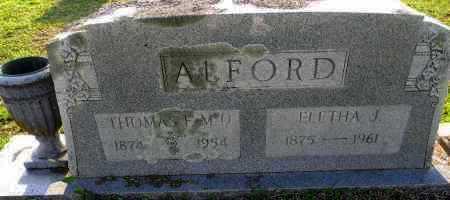 ALFORD, ELETHA J - Pike County, Arkansas | ELETHA J ALFORD - Arkansas Gravestone Photos