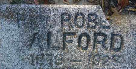 ALFORD, ROBERT - Pike County, Arkansas | ROBERT ALFORD - Arkansas Gravestone Photos
