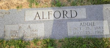 ALFORD, SARAH ADELINE - Pike County, Arkansas | SARAH ADELINE ALFORD - Arkansas Gravestone Photos