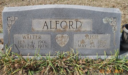 ALFORD, WALTER - Pike County, Arkansas | WALTER ALFORD - Arkansas Gravestone Photos