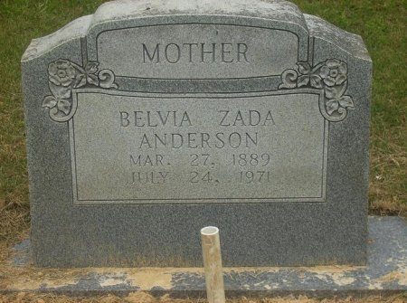ALFORD ANDERSON, BELVIA ZADA - Pike County, Arkansas | BELVIA ZADA ALFORD ANDERSON - Arkansas Gravestone Photos