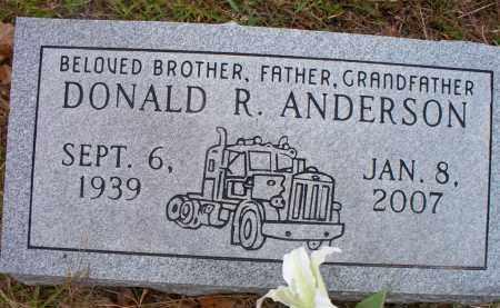 ANDERSON, DONALD R - Pike County, Arkansas   DONALD R ANDERSON - Arkansas Gravestone Photos
