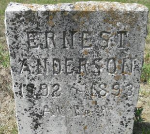 ANDERSON, ERNEST - Pike County, Arkansas | ERNEST ANDERSON - Arkansas Gravestone Photos