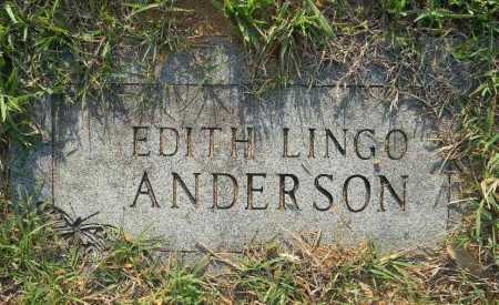 ANDERSON, EDITH - Pike County, Arkansas | EDITH ANDERSON - Arkansas Gravestone Photos