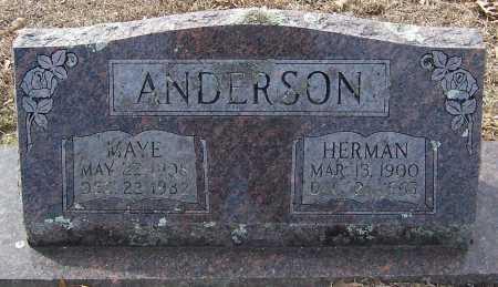 ANDERSON, HATTIE MAYE - Pike County, Arkansas   HATTIE MAYE ANDERSON - Arkansas Gravestone Photos
