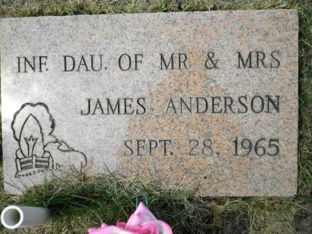 ANDERSON, INFANT DAUGHTER - Pike County, Arkansas | INFANT DAUGHTER ANDERSON - Arkansas Gravestone Photos