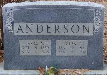 ANDERSON, JAMES MONROE - Pike County, Arkansas   JAMES MONROE ANDERSON - Arkansas Gravestone Photos