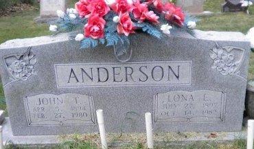 SPARKS ANDERSON, LONA ETTA - Pike County, Arkansas | LONA ETTA SPARKS ANDERSON - Arkansas Gravestone Photos