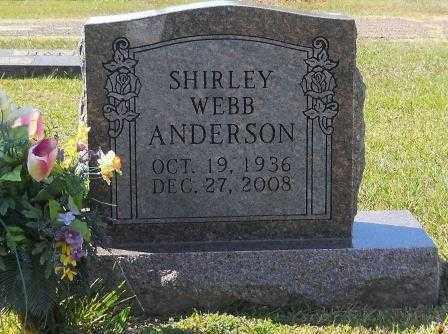ANDERSON, SHIRLEY - Pike County, Arkansas   SHIRLEY ANDERSON - Arkansas Gravestone Photos