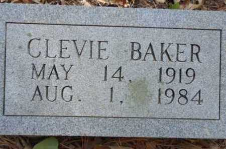 BAKER, CLEVIE - Pike County, Arkansas | CLEVIE BAKER - Arkansas Gravestone Photos