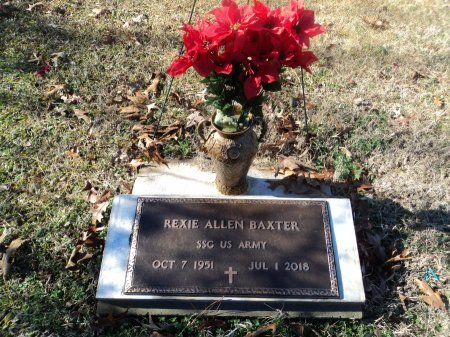 BAXTER (VETERAN), REXIE ALLEN - Pike County, Arkansas   REXIE ALLEN BAXTER (VETERAN) - Arkansas Gravestone Photos