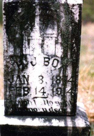 BOX, H. J. - Pike County, Arkansas   H. J. BOX - Arkansas Gravestone Photos