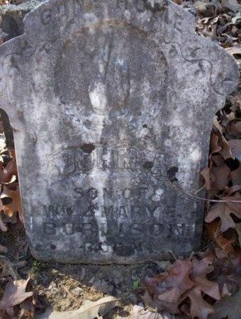 BURLISON, JOHN A - Pike County, Arkansas | JOHN A BURLISON - Arkansas Gravestone Photos