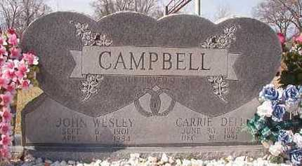 CAMPBELL, CARRIE DELL - Pike County, Arkansas | CARRIE DELL CAMPBELL - Arkansas Gravestone Photos