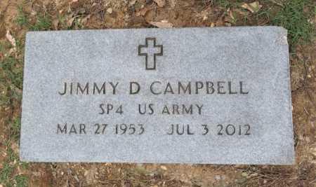 CAMPBELL (VETERAN), JIMMY D  - Pike County, Arkansas | JIMMY D  CAMPBELL (VETERAN) - Arkansas Gravestone Photos