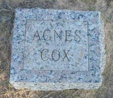 COX, AGNES - Pike County, Arkansas   AGNES COX - Arkansas Gravestone Photos