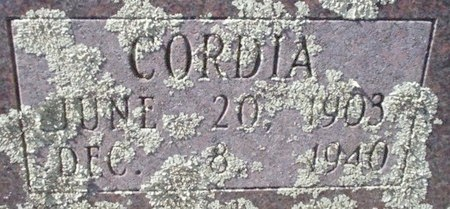 COX, CORDIA (CLOSE UP) - Pike County, Arkansas   CORDIA (CLOSE UP) COX - Arkansas Gravestone Photos
