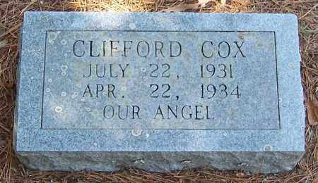 COX, CLIFFORD - Pike County, Arkansas | CLIFFORD COX - Arkansas Gravestone Photos