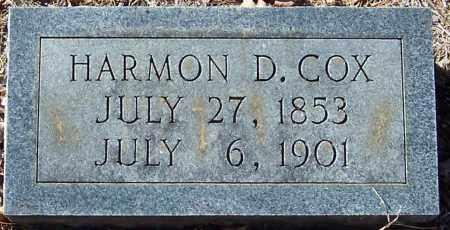 COX, HARMON DODSON - Pike County, Arkansas | HARMON DODSON COX - Arkansas Gravestone Photos
