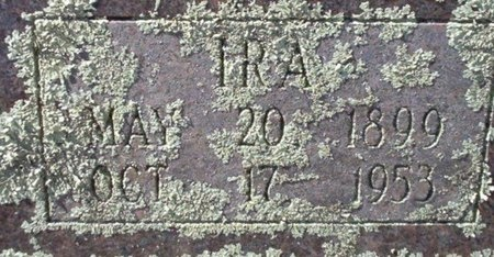 COX, IRA (CLOSE UP) - Pike County, Arkansas | IRA (CLOSE UP) COX - Arkansas Gravestone Photos