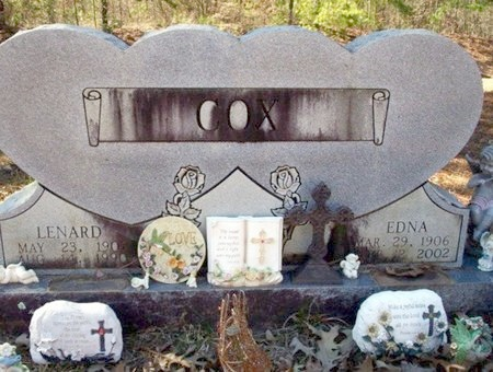 COX, LENARD - Pike County, Arkansas | LENARD COX - Arkansas Gravestone Photos