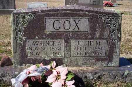 COX, LAWRENCE A - Pike County, Arkansas | LAWRENCE A COX - Arkansas Gravestone Photos