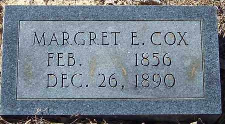 COX, MARGRET E - Pike County, Arkansas | MARGRET E COX - Arkansas Gravestone Photos