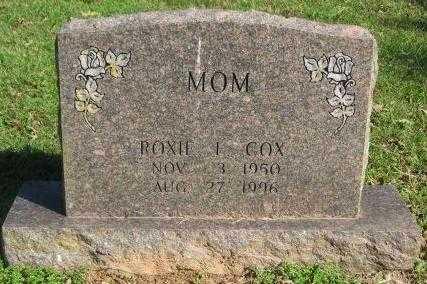 COX, ROXIE L - Pike County, Arkansas   ROXIE L COX - Arkansas Gravestone Photos