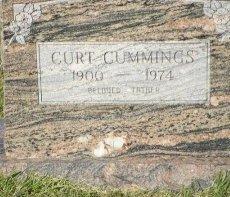 CUMMINGS, ALVIN CURTIS (CLOSEUP) - Pike County, Arkansas   ALVIN CURTIS (CLOSEUP) CUMMINGS - Arkansas Gravestone Photos
