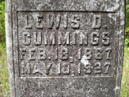 CUMMINGS, LEWIS DAVID - Pike County, Arkansas | LEWIS DAVID CUMMINGS - Arkansas Gravestone Photos