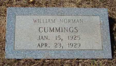 CUMMINGS, WILLIAM NORMAN - Pike County, Arkansas | WILLIAM NORMAN CUMMINGS - Arkansas Gravestone Photos